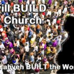 I will build My Church. The building (in Biblical Hebrew) of the woman in Genesis 2 foreshadowed this momentous pronouncement by Christ.