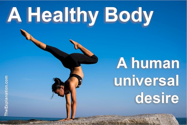 A healthy body - A legitimate human universal desire. How can we best achieve that goal?