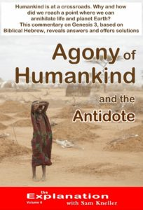 Agony of humankind and the antidote - God doesn't leave His Creation without solutions.