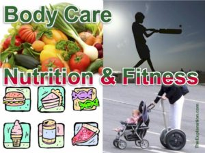 Body care. Depends a lot on nutrition and fitness. How are we doing in these two areas of treating our bodies?
