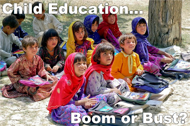 Is Education the answer to a lot of the world's woes? Many believe it is the solution