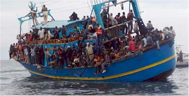 Clandestine migration. Human endeavours run the gamut from best to worst. This is a plight on society.