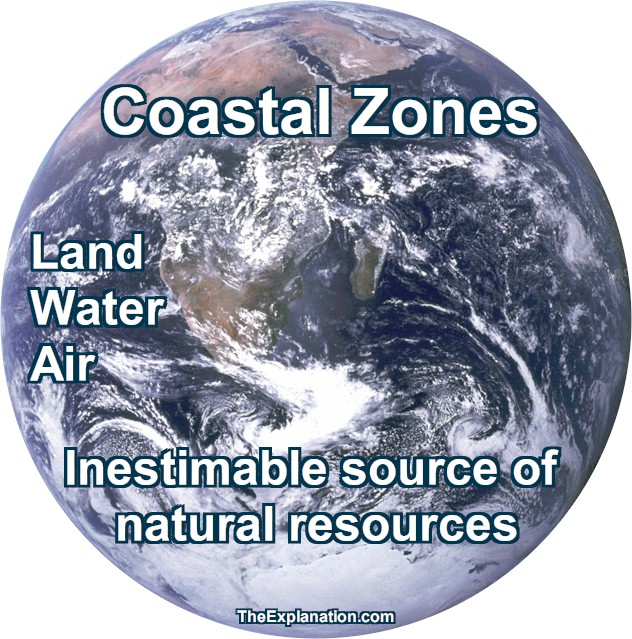 Coastal Zones, Home to Forty percent of World Population