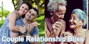 The couple relationship is the basis of human society. Young couples start passionately. Old couples have full oneness.