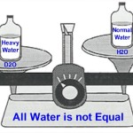 Heavy water and normal water. What's the difference and why is it important?