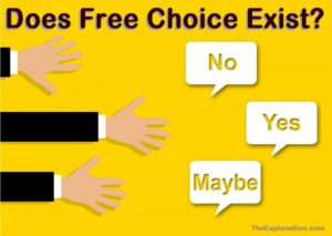 Free choice. Do humans possess it? What about God and Lucifer, as well as the angels? You decide.