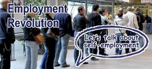 An employment revolution is taking place in society. Men and women want to be able to use their minds and hands. Is the answer self-employment?