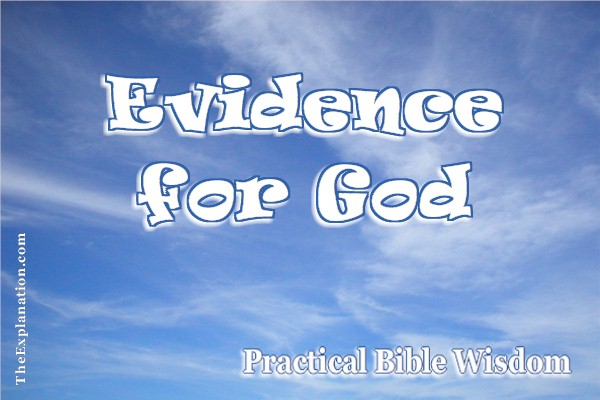 Conclusive Evidence for God? Prove Undeniable Existence