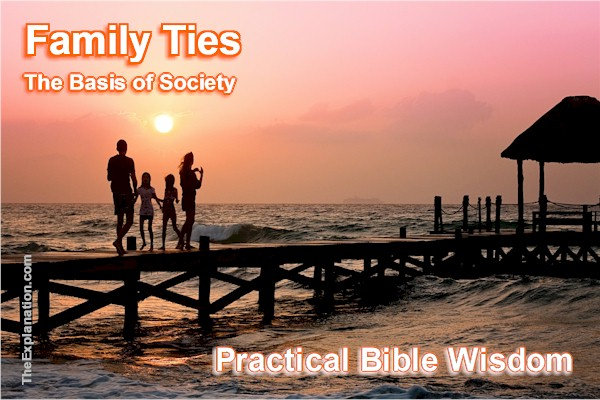 Family Ties, Gender, Sex, Marriage, Bible. God's Amazing Mix