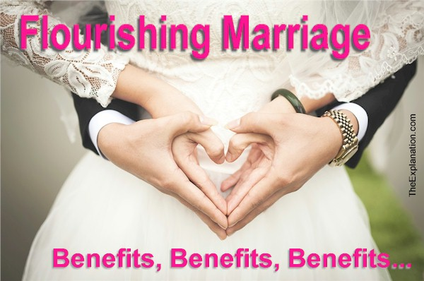 A flourishing marriage is the most wholesome foundational structure in the construction of a solid human society.