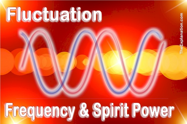 The fluctuation and frequency of the power of the Spirit of God. A biblical reality.