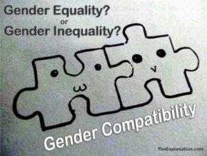 Gender equality, gender inequality or gender compatibility