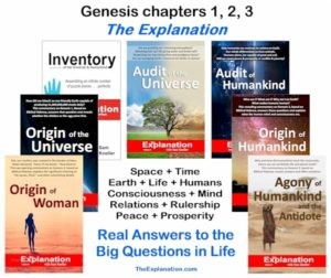 Mystery solved. Genesis 1-3 reveals real answers to the big question. The Bible is relevant to the 21st century.