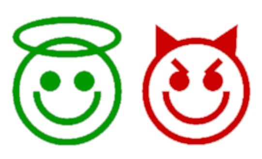 Good and evil, I could've said 'good and bad'... whatever, what is the origin of these two very present characteristics of each of us, here on Earth?