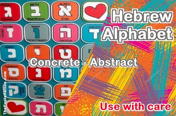 Original Hebrew Alphabet. 22 Enlightening Concrete Symbols