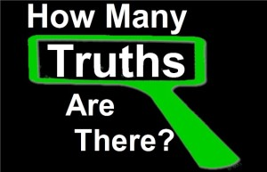 How many Truths are there? Can 'Lego'--like in the Lego construction set--help lead us to the answer?