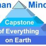The Human mind, whatever, you consider it to be, is the capstone of everything on Earth.