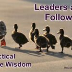Leaders and followers. The way to lead, the way to follow. Practical Bible wisdom.