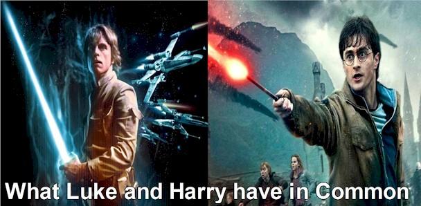 The common denominator between Star War's Luke Skywalker and Harry Potter is...