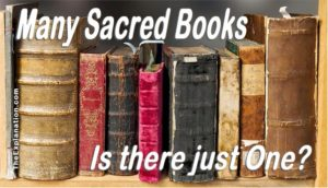 Sacred Books. How are we going to decide which is the ONE--if there is one--to plunge into for answers?