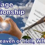Marriage relationship. Two people together, it can be heaven or hell. Here's why.