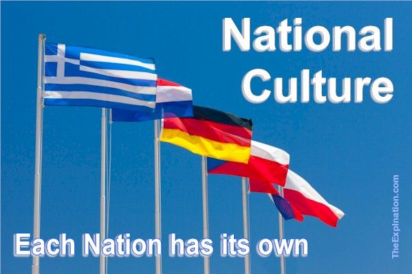 Nations Are Identified by Their Own Patriotic Ethnic Culture