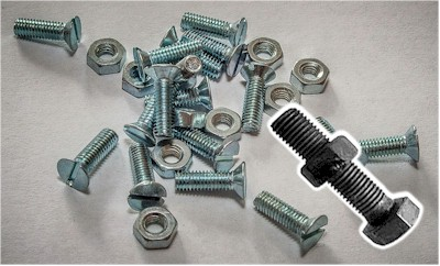 Nuts and bolts. Each with its singularity but the value is their compatibility.