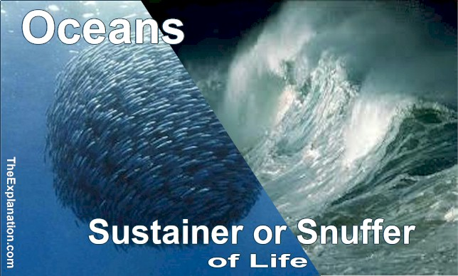 Oceans: Heat, Oxygen and Food for Life on Earth