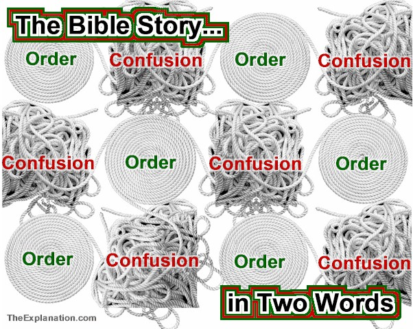 Ups and Downs – Order to Confusion to Order – The Bible Cycle