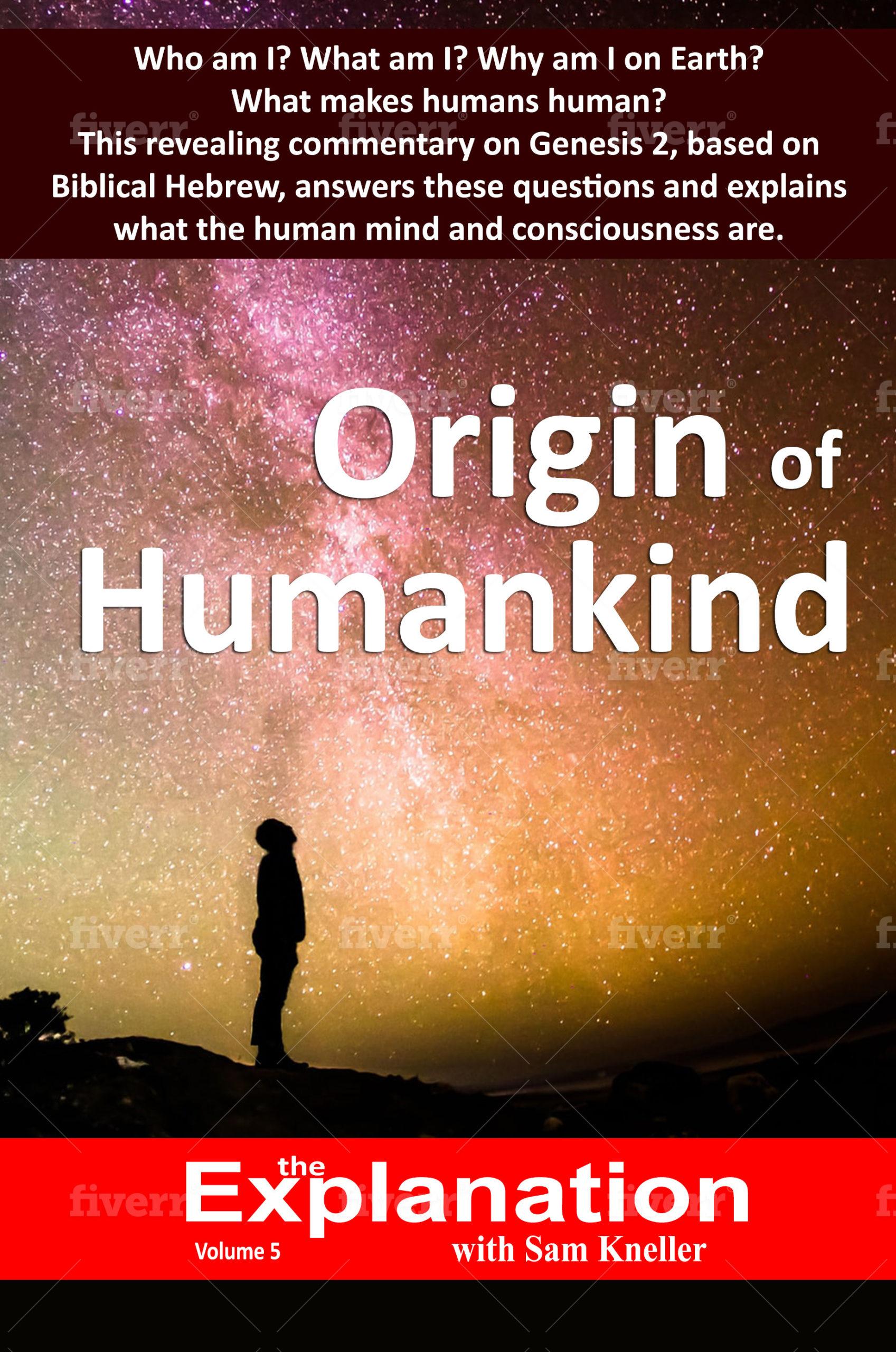 Origin of Humankind book cover