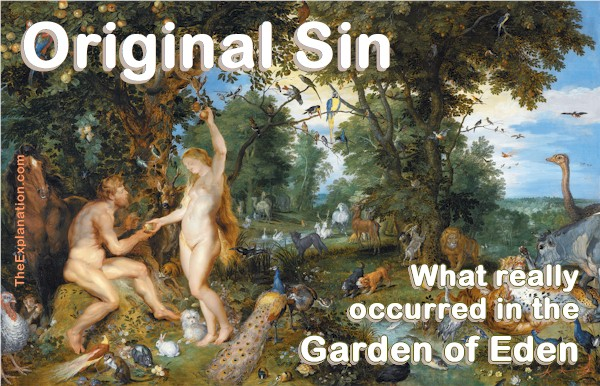 Original Sin Definition – What Really Happened in Eden