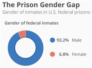 Prison gender gap
