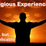 Religious experiences happen in people's lives. They are fact but inexplicable.