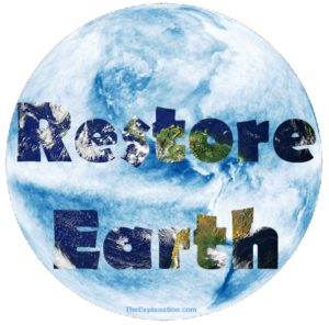 Restore Earth from waste to flourish, from chaos to harmony