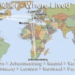 Sam Kneller has lived in numerous cities, in various countries, on three continents.