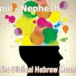Soul, the translation of Nephesh in Genesis 2.7. Here's the Biblical Hebrew meaning.