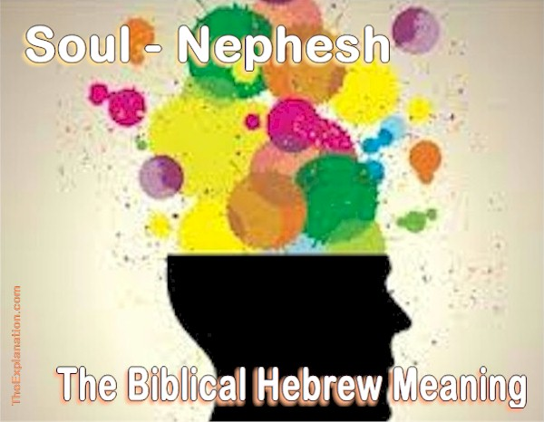 Soul, Nephesh in Biblical Hebrew. Here's the Definition