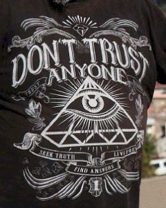 Do not Trust Anyone - Seek Truth - Live Free - Find Answers