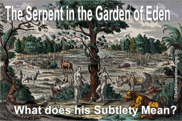 Did the Serpent in the Garden of Eden Make God's Plan Abort?