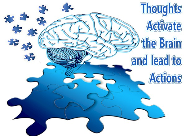 Thinking Precedes and Activates Activity, Nobody Knows the Mechanism