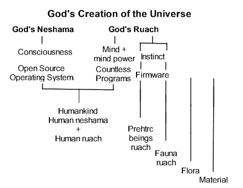 The Theory of Everything now including consciousness, mind, instinct, prehistoric beings and the role of human software.