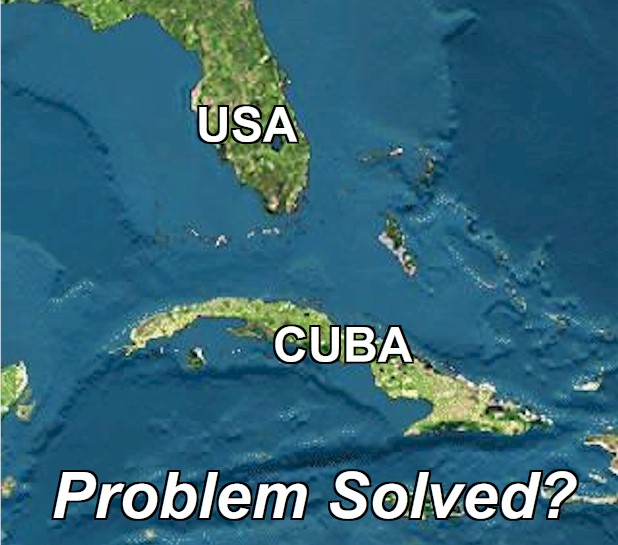 USA and Cuba sign historic agreement (December 2014). I realize this is just the beginning but is the problem solved?