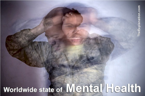 Mental Health, You will be Surprised to Know what the State of the World is