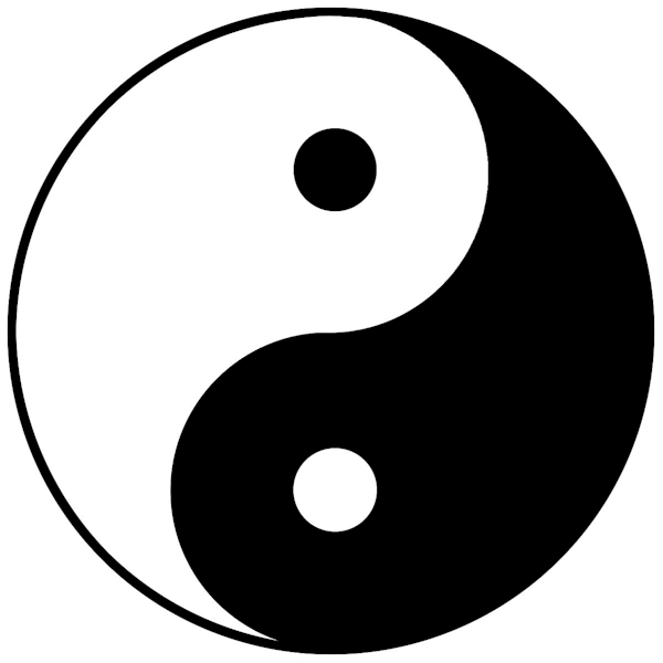 Yin-yang can be thought of as complementary (rather than opposing) forces that interact to form a dynamic system